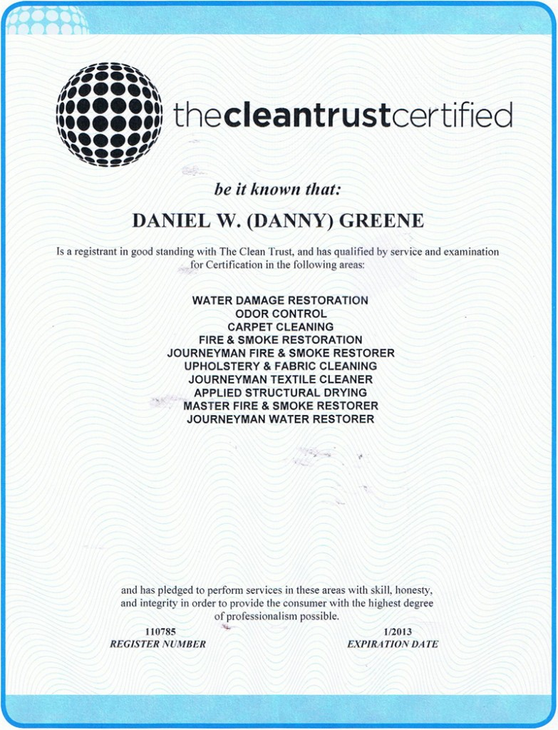 the clean trust certified, fire damage restoration, water damage restoration, damage restoration, residential damage restoration,commercial damage restoration, mold damage restoration, biohazard cleanups, mold inspections, crime scene cleanup, tile and grout cleaning